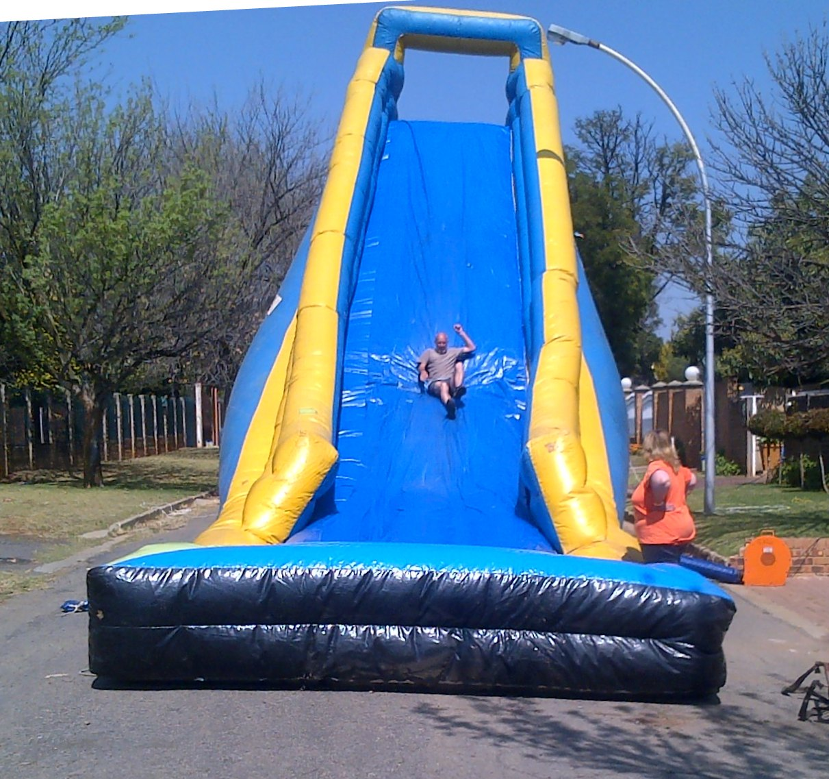 Water Slides for Hire10m Giant Gladiator Slide