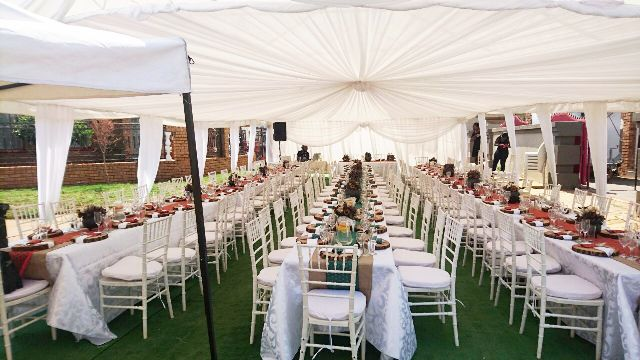 TENTS & MARQUEES
