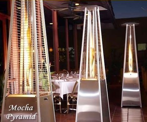 Pyramid & Patio heaters, fire baskets for hire Soweto