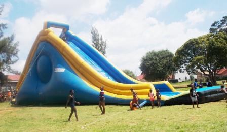 JUMPING CASTLES & WATERSLIDES